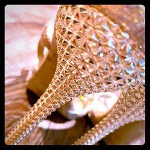 🌟NINE WEST🌟 Gold Studded Stilletos